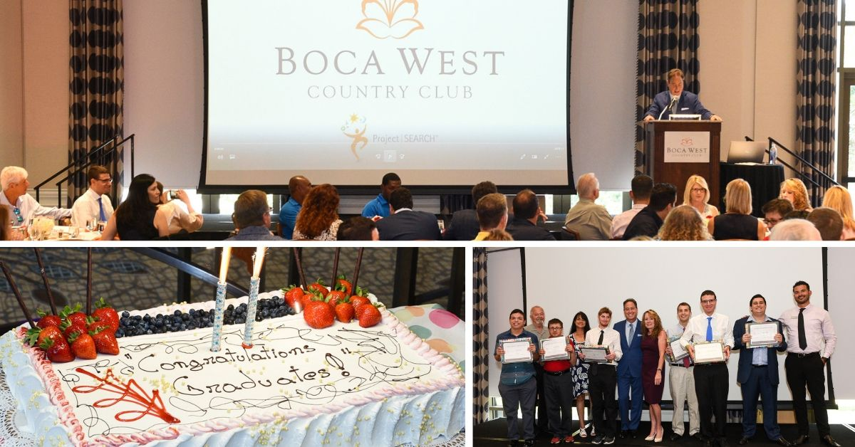 Boca West Internship Program Graduation Day